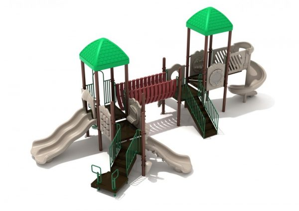 City parks and recreation playground
