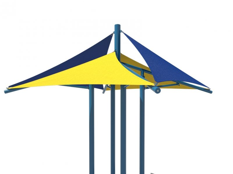 Modular Quad Sail Shade florida